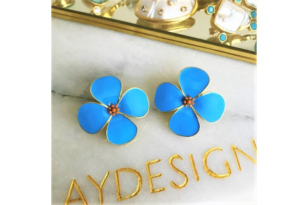 Bodrum Beauty Earring - Turquoise