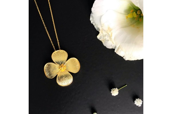 BEAUTY NECKLACE - GOLD PLATED