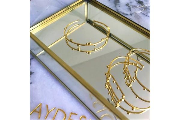 GOLD BUDS BANGLE
