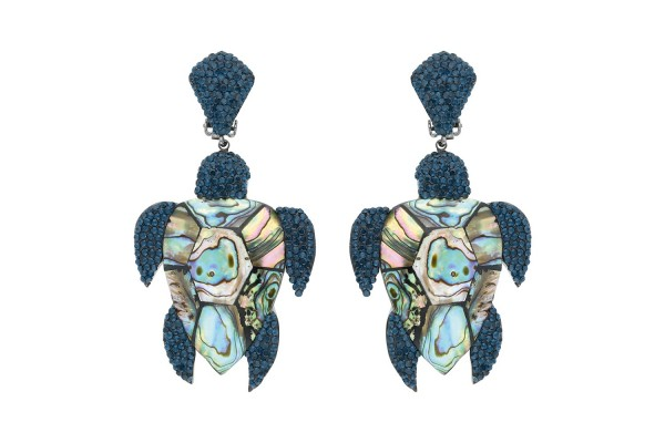TURTLE ADDICTION EARRING - MONTANA