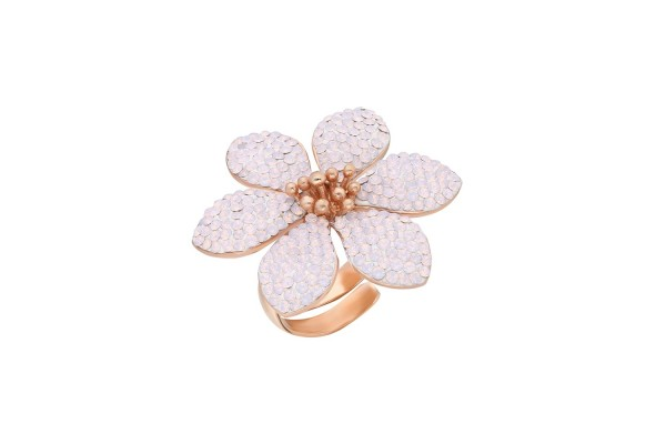 HARMONY RING  - PINK OPAL